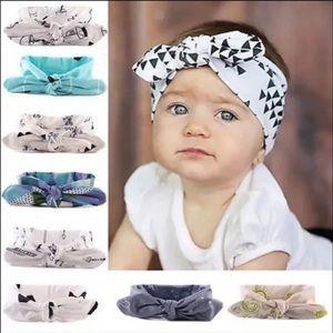 Baby Girl Boho Tie Headbands